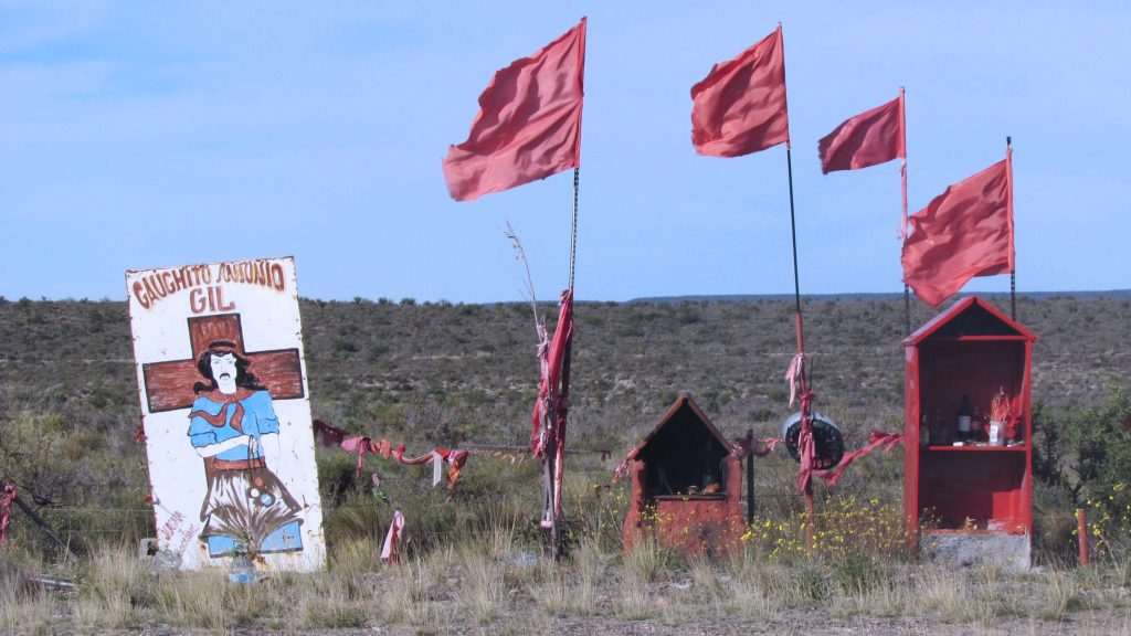 Shrine to Guachito Gil