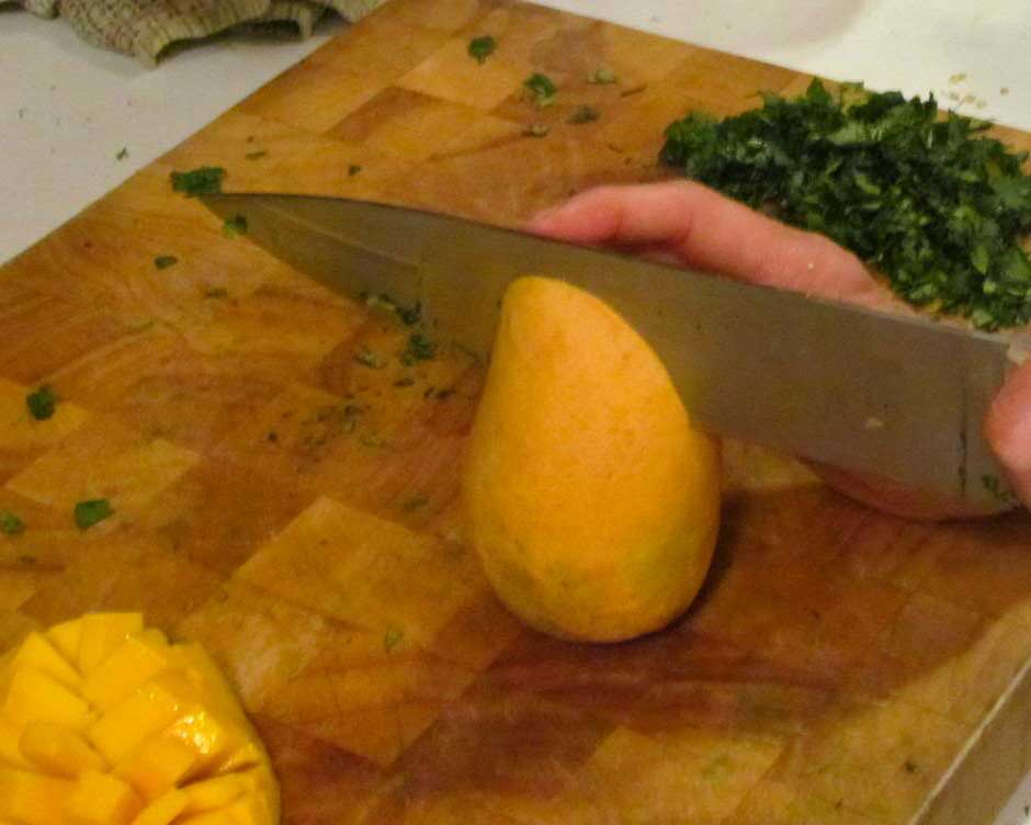 How to Slice A Mango, Step One