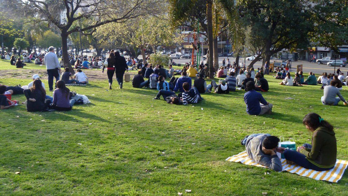 A Sunday Afternoon, Parque Las Heras, Buenos Aires