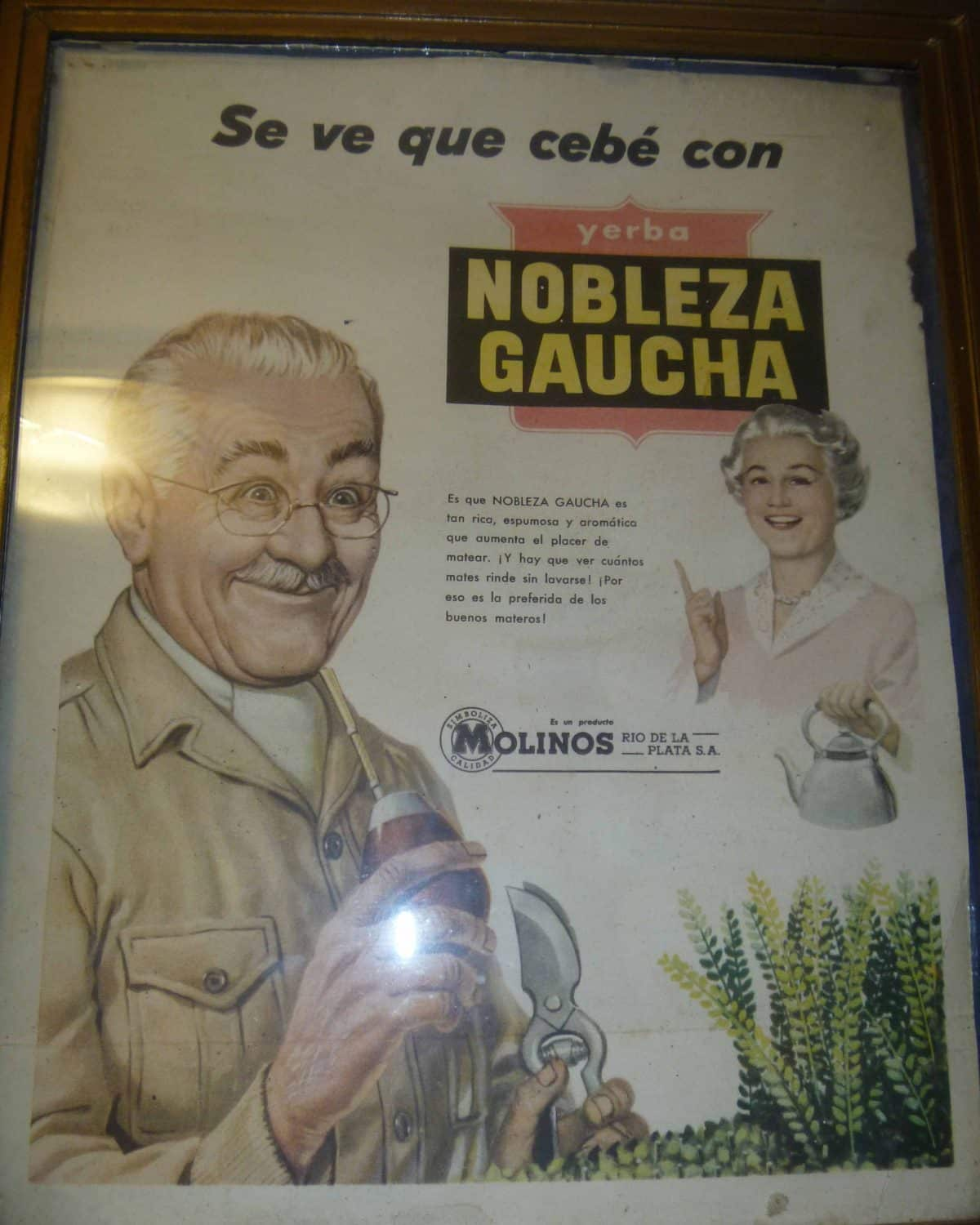 Old Mate Advertisement, Museo del Mate, Tigre