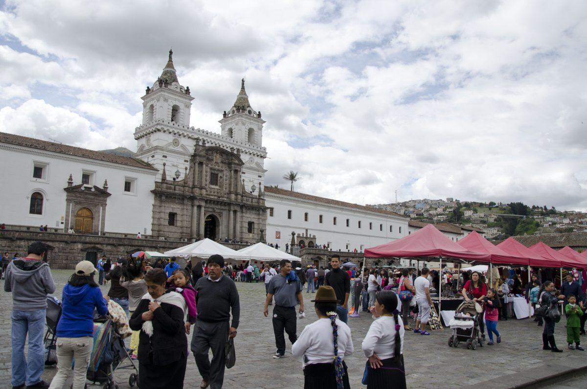 Plaza San Francisco, Historic Center, Quito