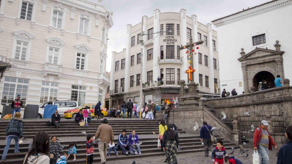 Capilla de Cantuña, Plaza San Francisco, Quito, Ecuador