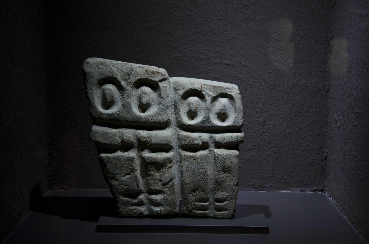 Monoliths from Valdivia (4000-1500 BCE); Casa Alabado, Quito, Ecuador | ©Angela Drake