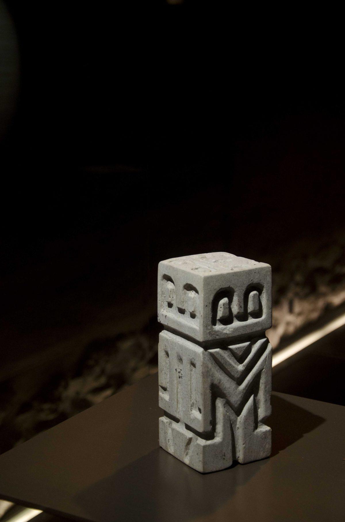 Monolith from Valdivia (4000-1500 BCE); Casa Alabado, Quito, Ecuador | ©Angela Drake