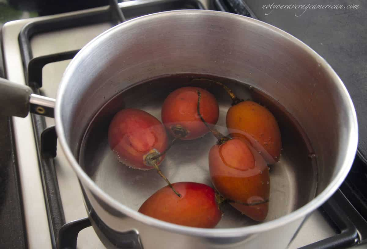 Boil the Tree Tomatoes, Ecuadorian Hot Sauce with Ginger
