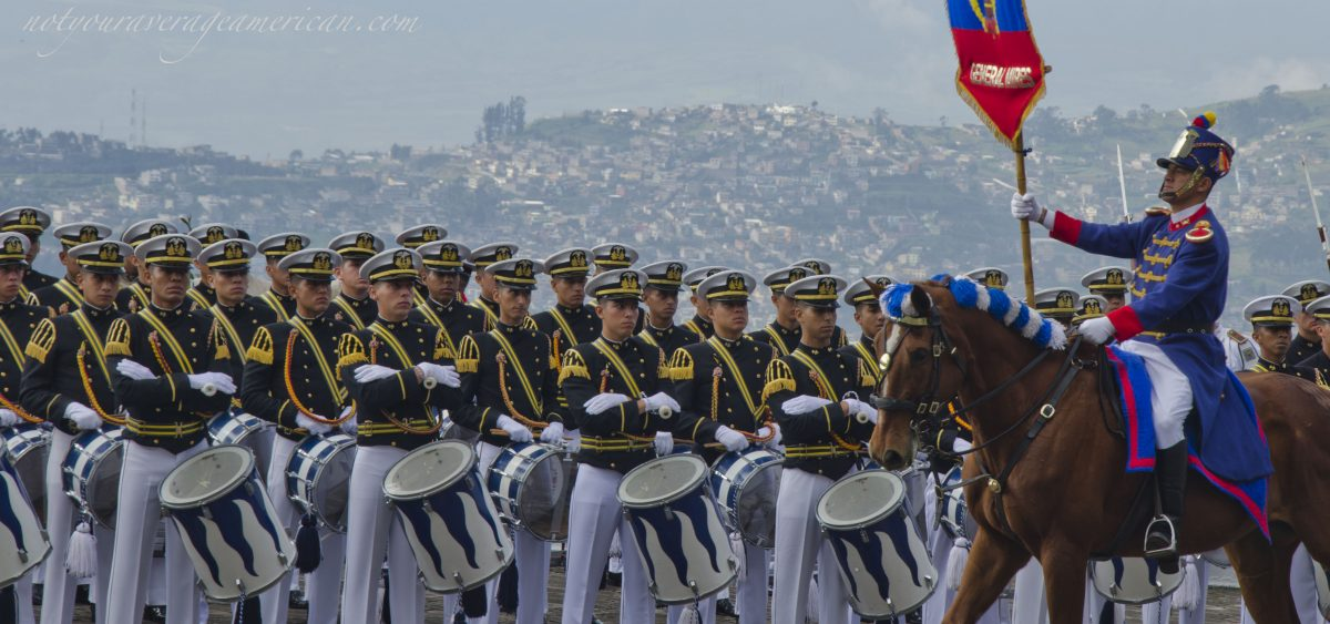 May 25th Military Parade, Cima de la Libertad, Quito, Ecuador | ©Angela Drake