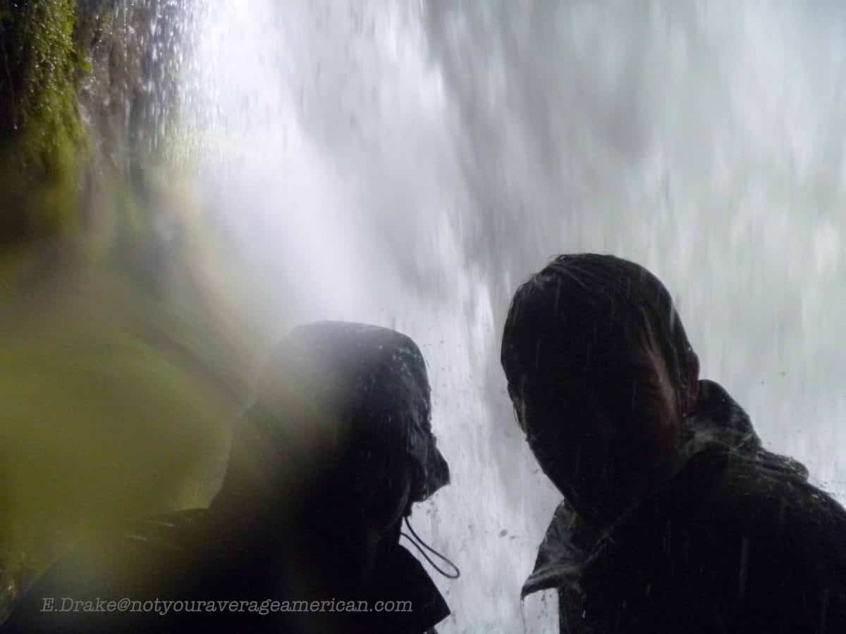 Use a waterproof camera, The Pailón del Diablo, Baños, Ecuador