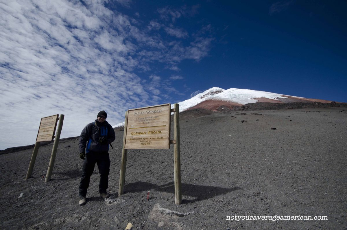 Hiking to the Refugio at Cotopaxi National Park