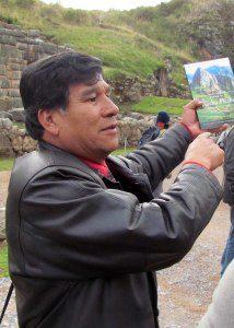 Our guide, Rómelo Lizárraga Valencia