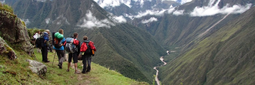 View of the Rio Urubamba from Intipata