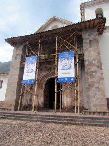 The Church of Andahuaylillas.