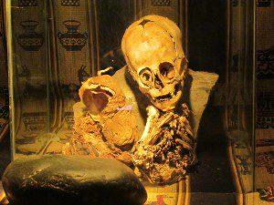The famous Andahuaylillas Skull.
