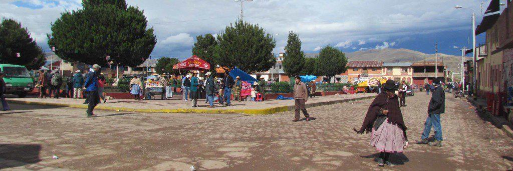 City plaza at Pukara.