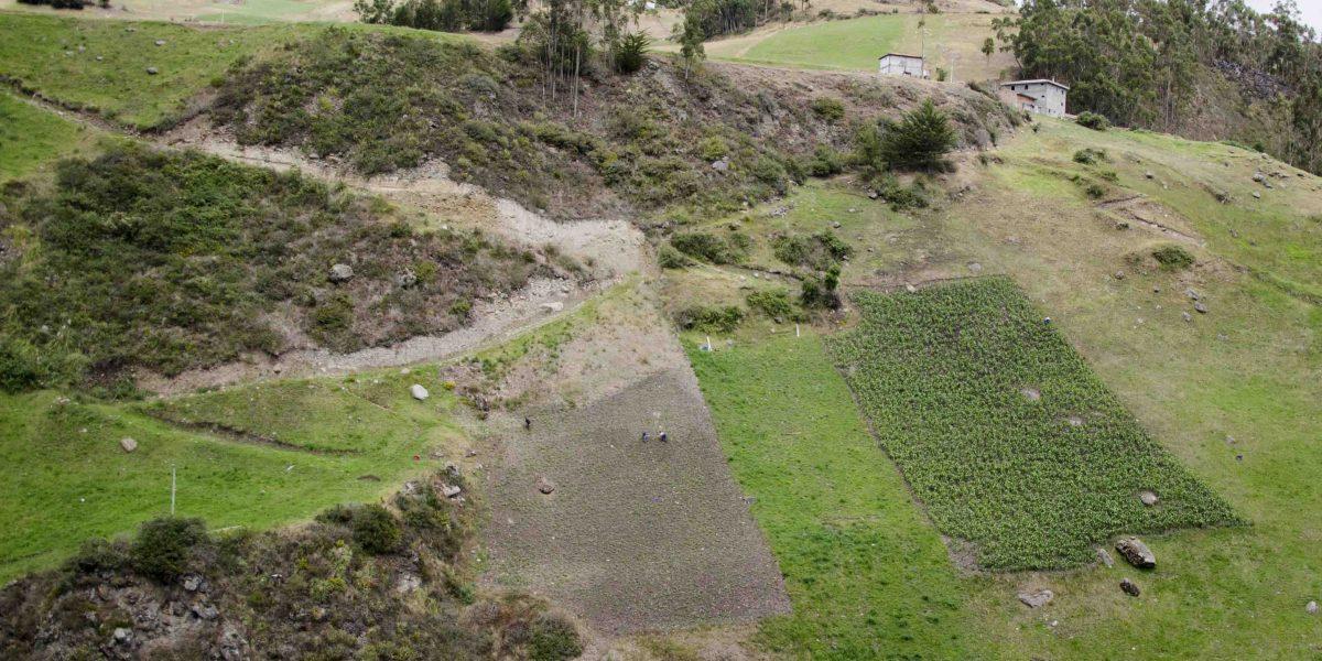 Farm Fields, Ingapirca Trail, Cañar, Ecuador