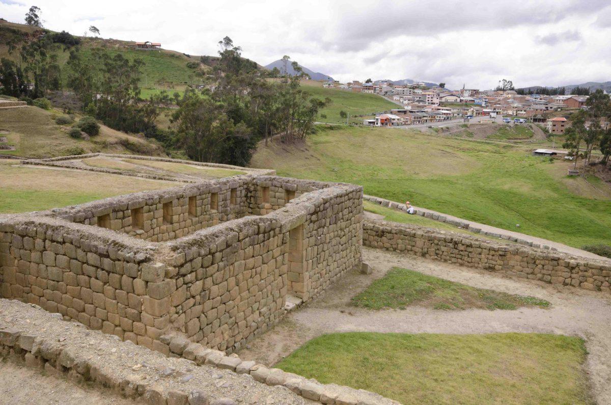 Niches, Ingapirca, Cañar Province, Ecuador