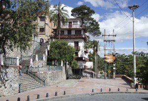 Just above Puente del Centenario