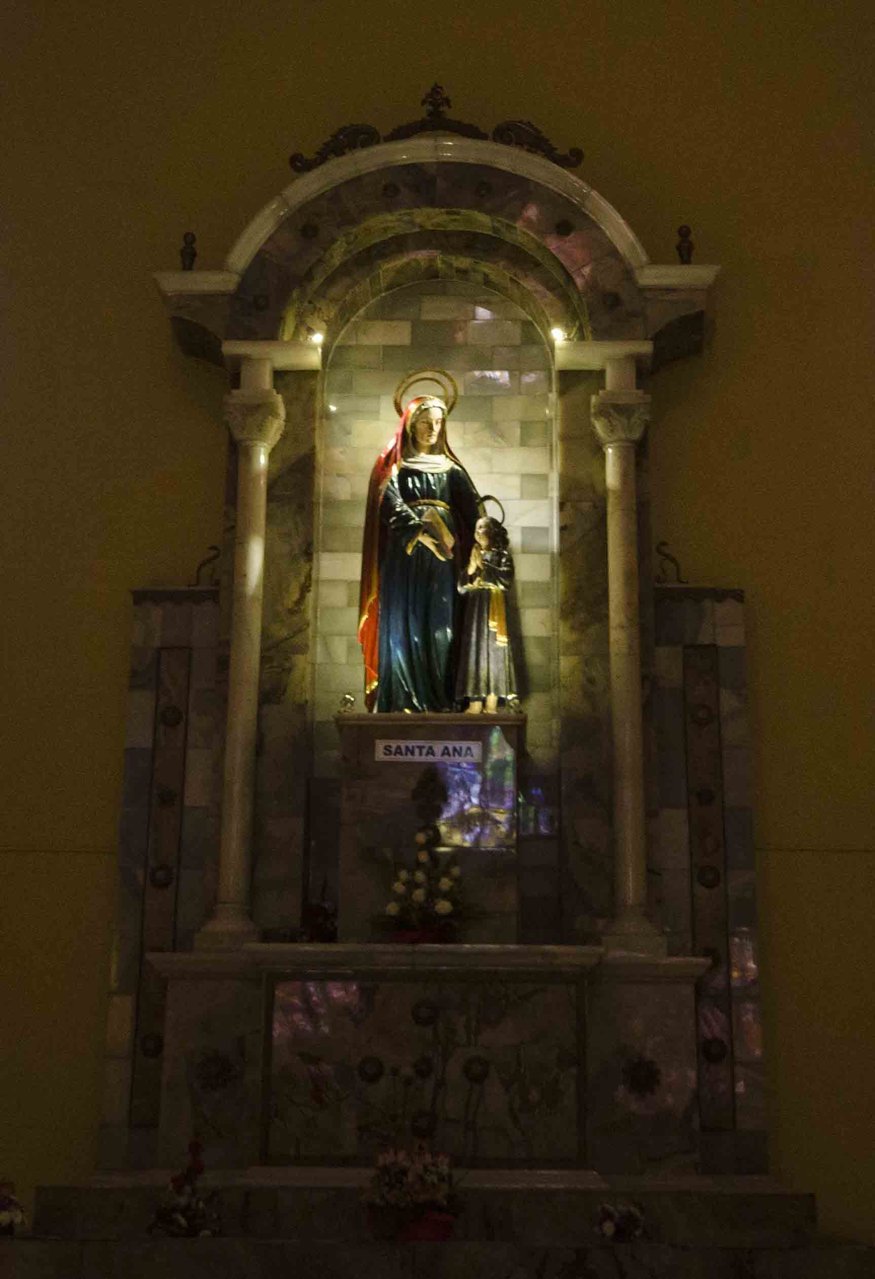 The Virgin Mary, the New Cathedral, Cuenca, Ecuador