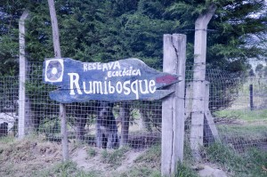 Another sign to RumibosqueAnother sign to Rumibosque