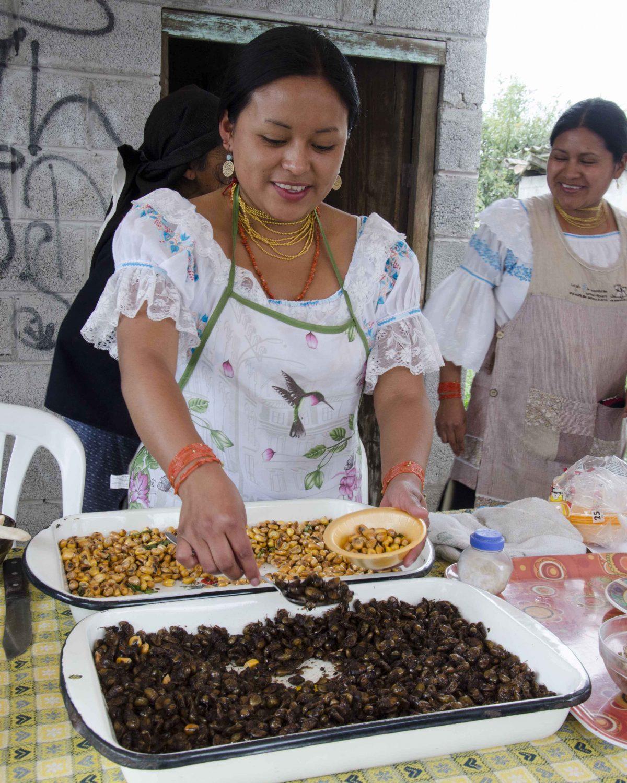 Yanti, the Catzo Vendor in Peguche, Ecuador | ©Angela Drake