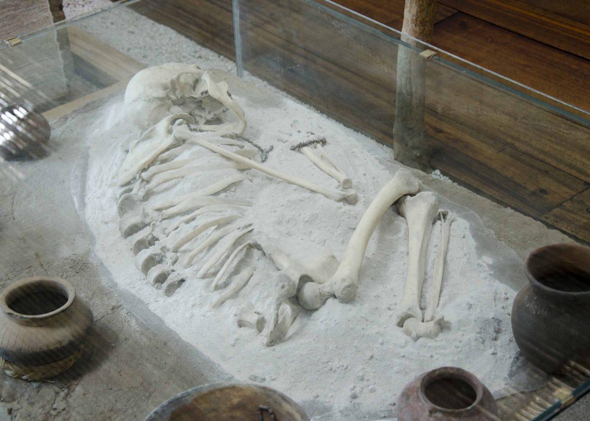Remains of a Woman, Cochasquí, Ecuador | ©Angela Drake / Not Your Average American