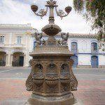 Water Fountain at Parque Maldenado, Riobamba