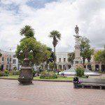 Plaza Parque Maldenado, Riobamba