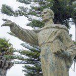 Statue in Parque La Libertad