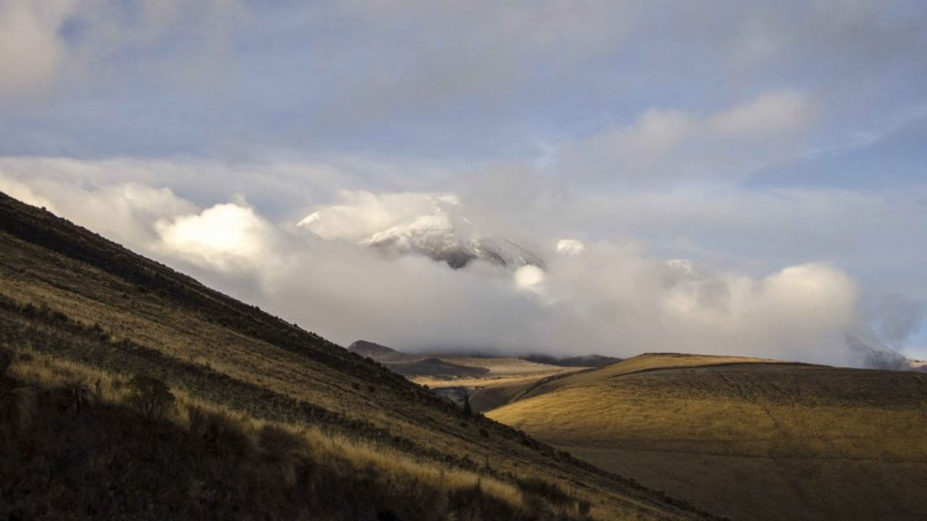 Chimborazo in Late Afternoon Light