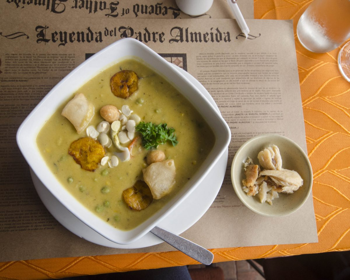 Fanesca, the traditional Lenten soup of the Ecuadorian Sierra | ©Angela Drake