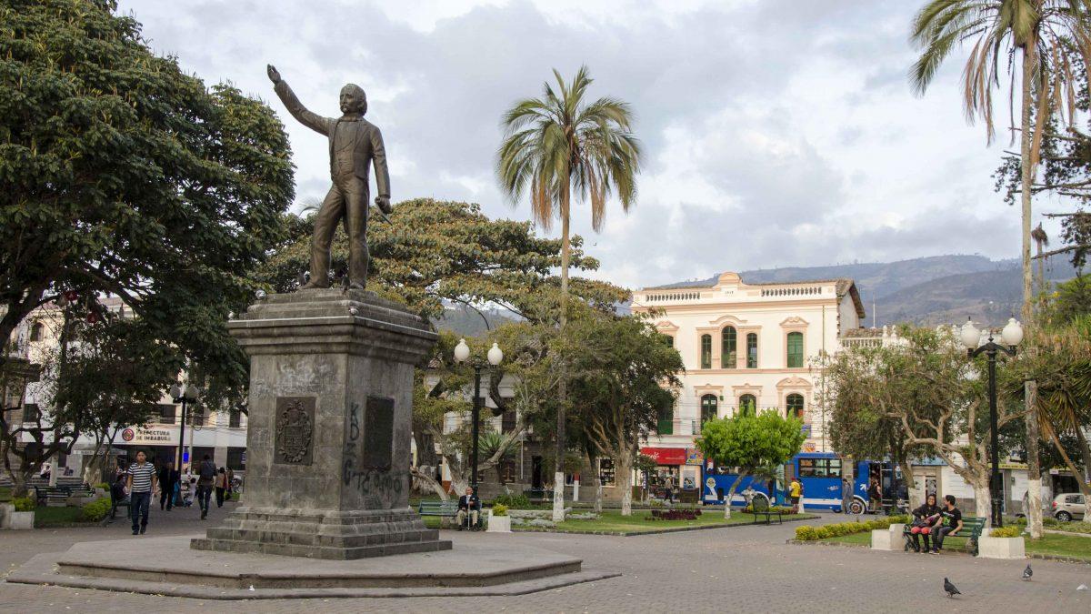 Main Plaza, Ibarra, Imbabura, Ecuador | ©Angela Drake