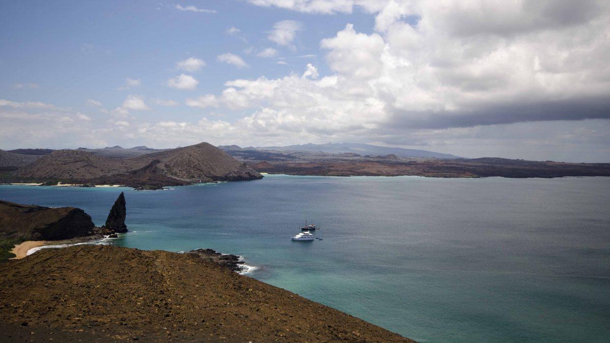 Incoming Storm, Bartolome Island, the Galapagos.