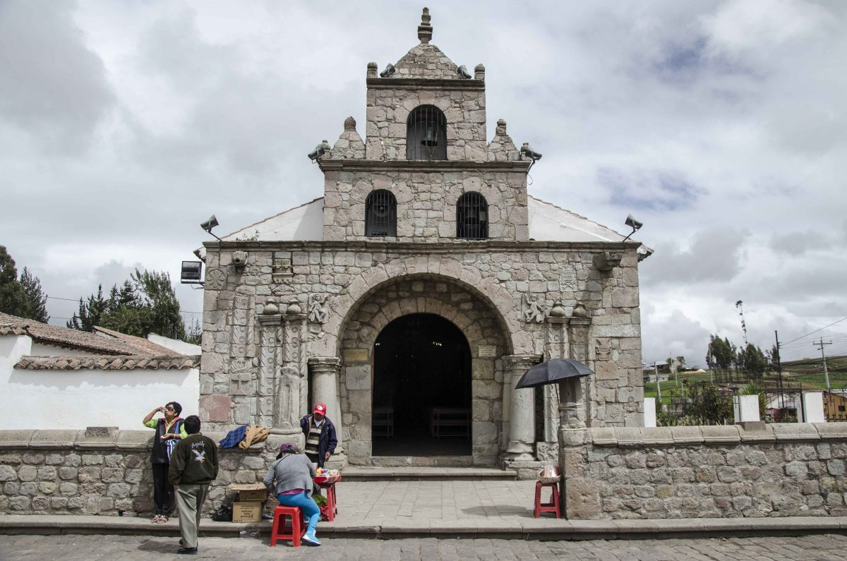 Iglesia de la Virgen María Natividad de La Balbanera, the oldest Church in Ecuador | © Angela Drake