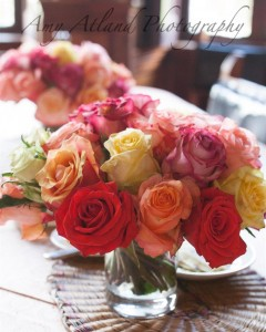 Roses on the Breakfast Table