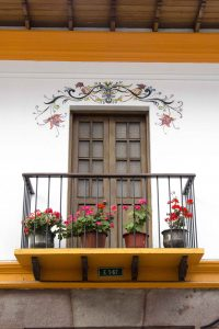 Restored Colonial Building, San Marcos, Quito