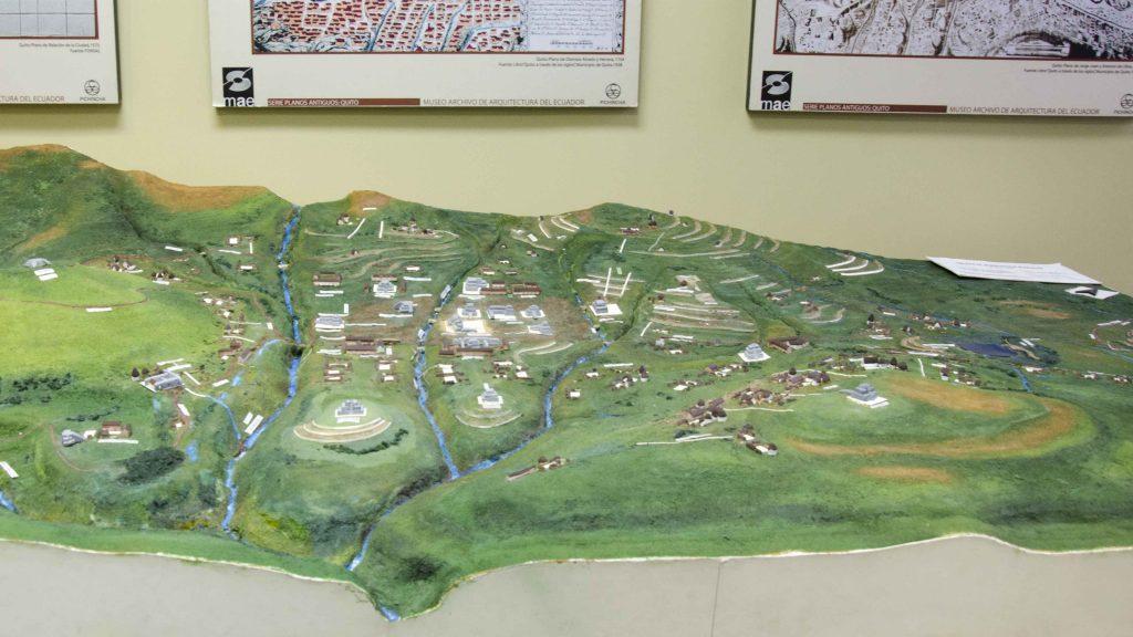 Topographic Model of Quito