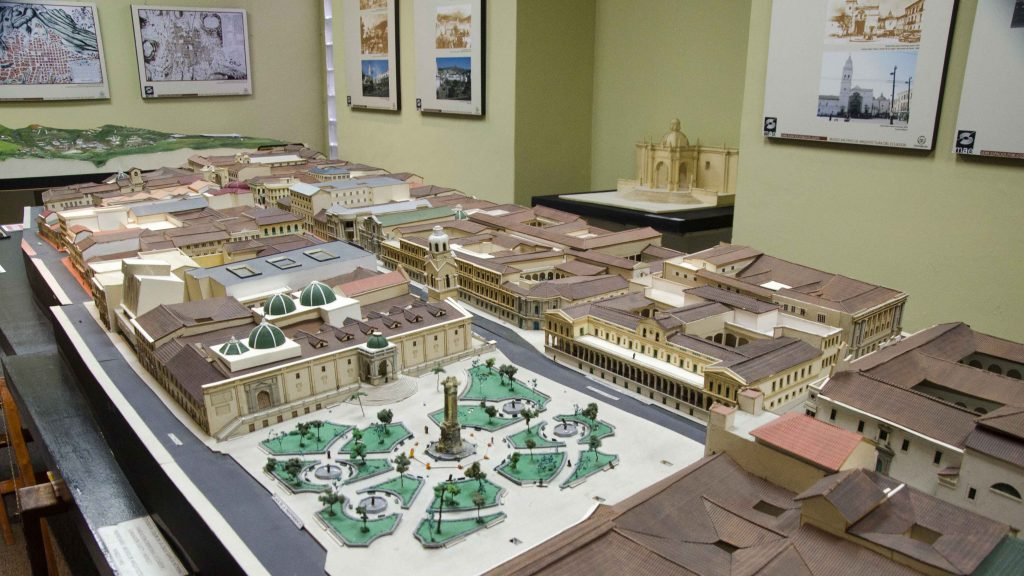 Model of Historic Quito