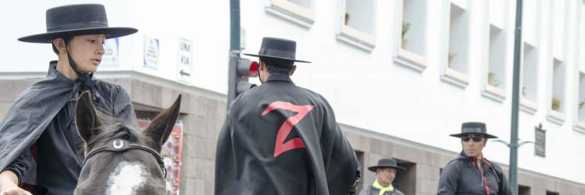 The Cacería del Zorro Parade