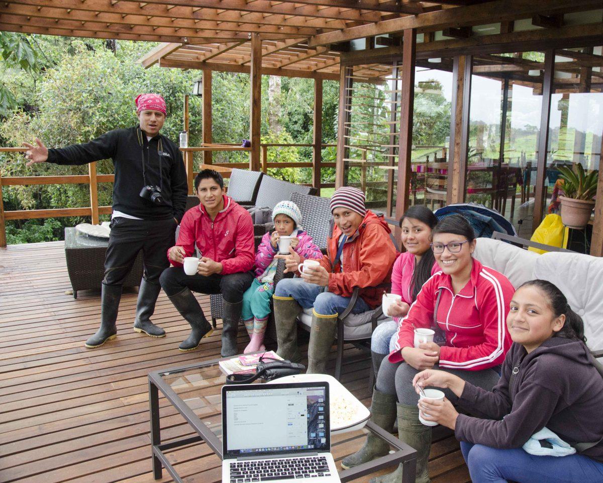 Cosanga Birdwatchers Club at Cabañas San Isidro, Ecuador | ©Angela Drake