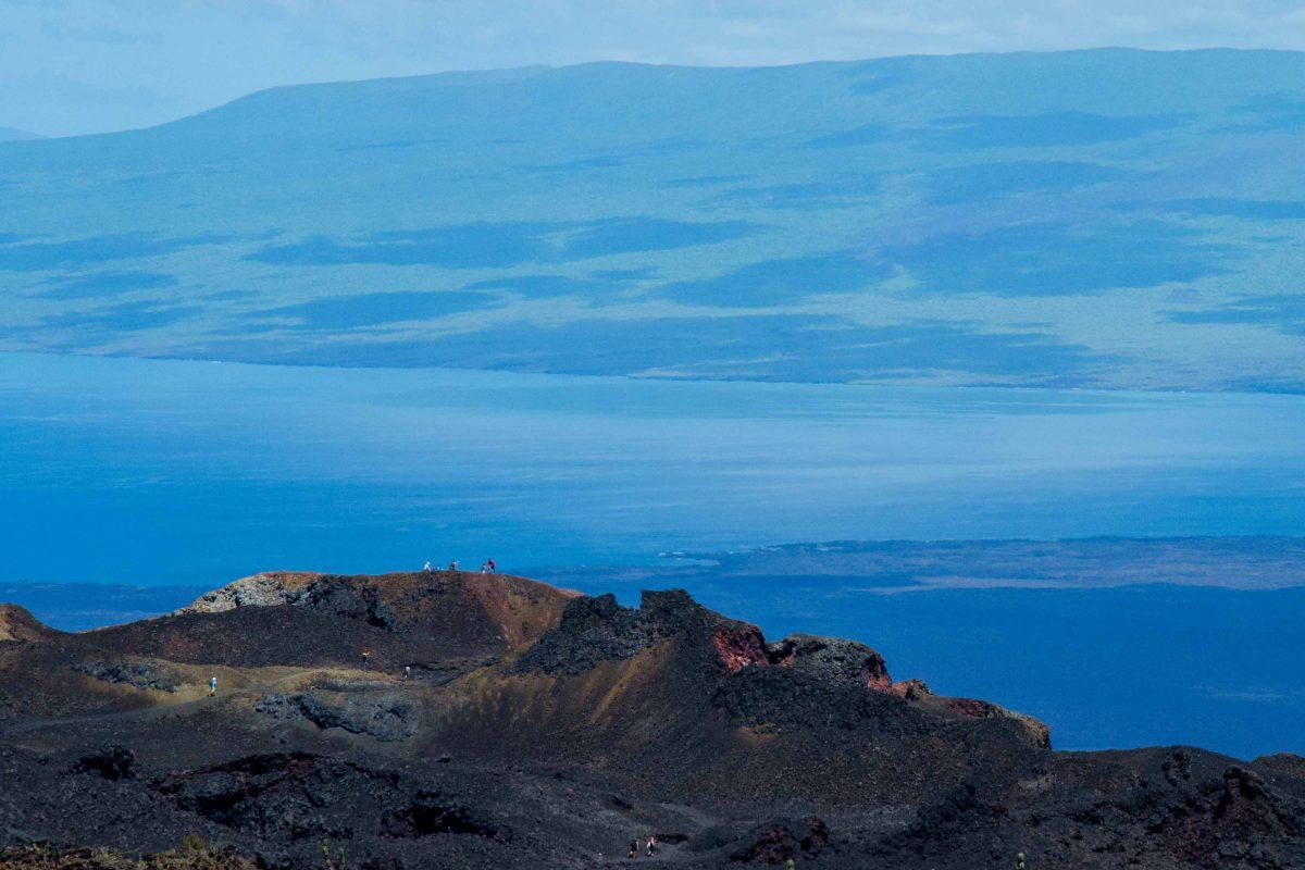 Volcan Chico, Isla Isabela, The Galapagos, Ecuador   ©Angela Drake / Not Your Average American; Ecuador Por Mis Ojos