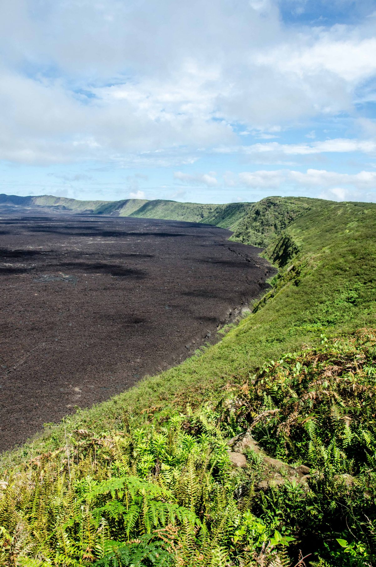 Volcan Sierra Negra, Isla Isabela, The Galapagos, Ecuador   ©Angela Drake / Not Your Average American