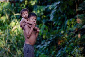 Pastaza Province, Children