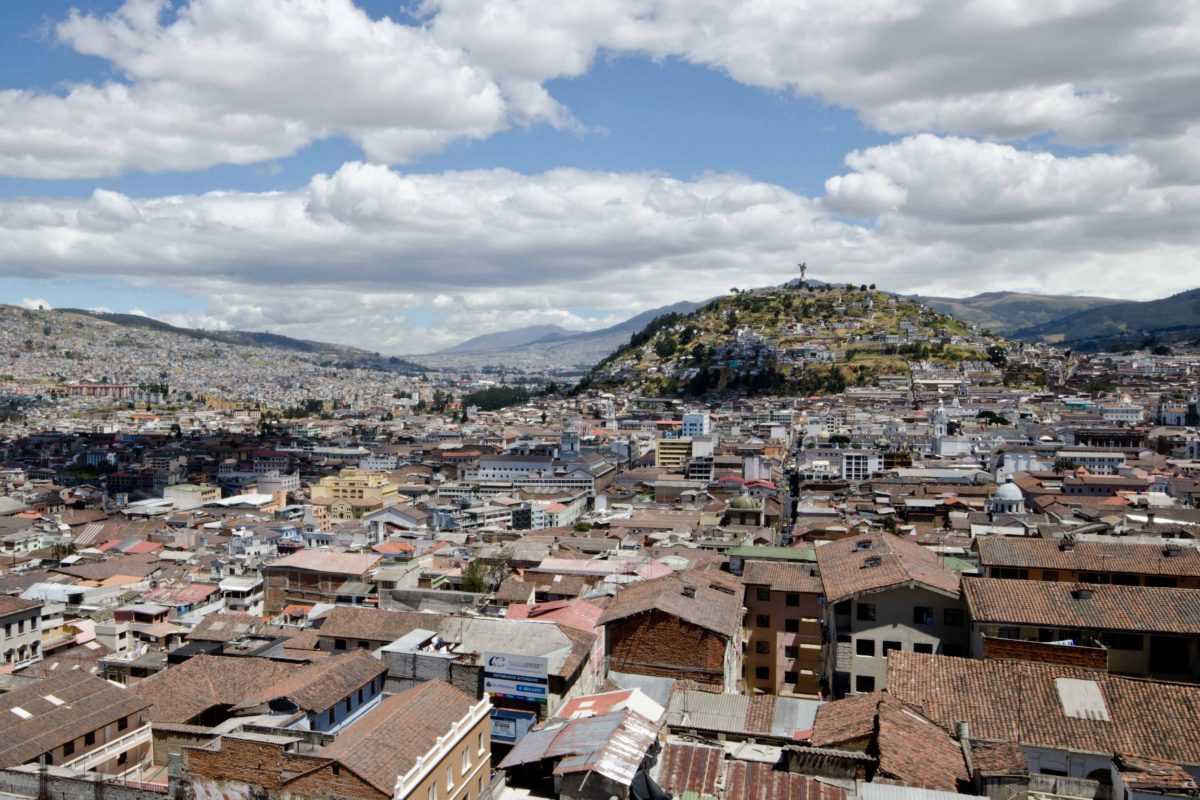 Historic Quito from the Basilica del Voto Nacional; Ecuador Por Mis Ojos