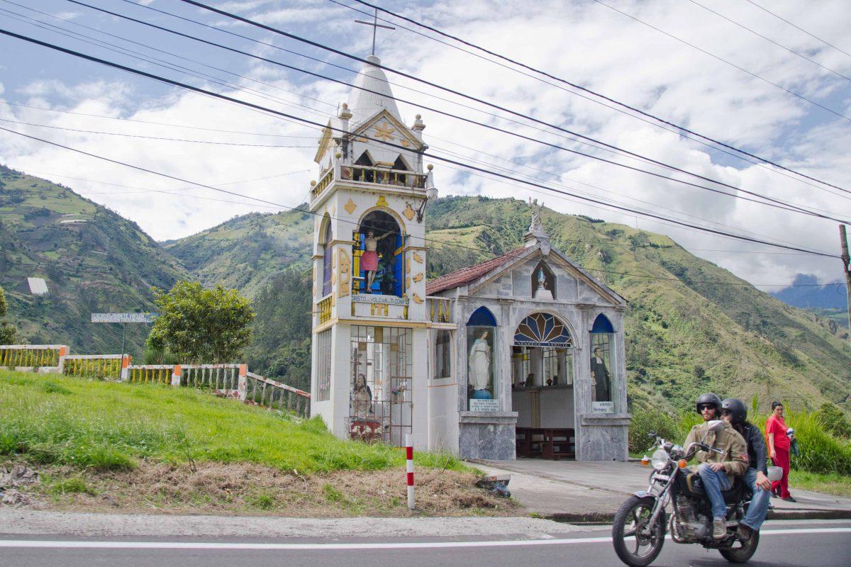 Church, Baños de Agua Santa, Tungurahua Province Ecuador Por Mis Ojos