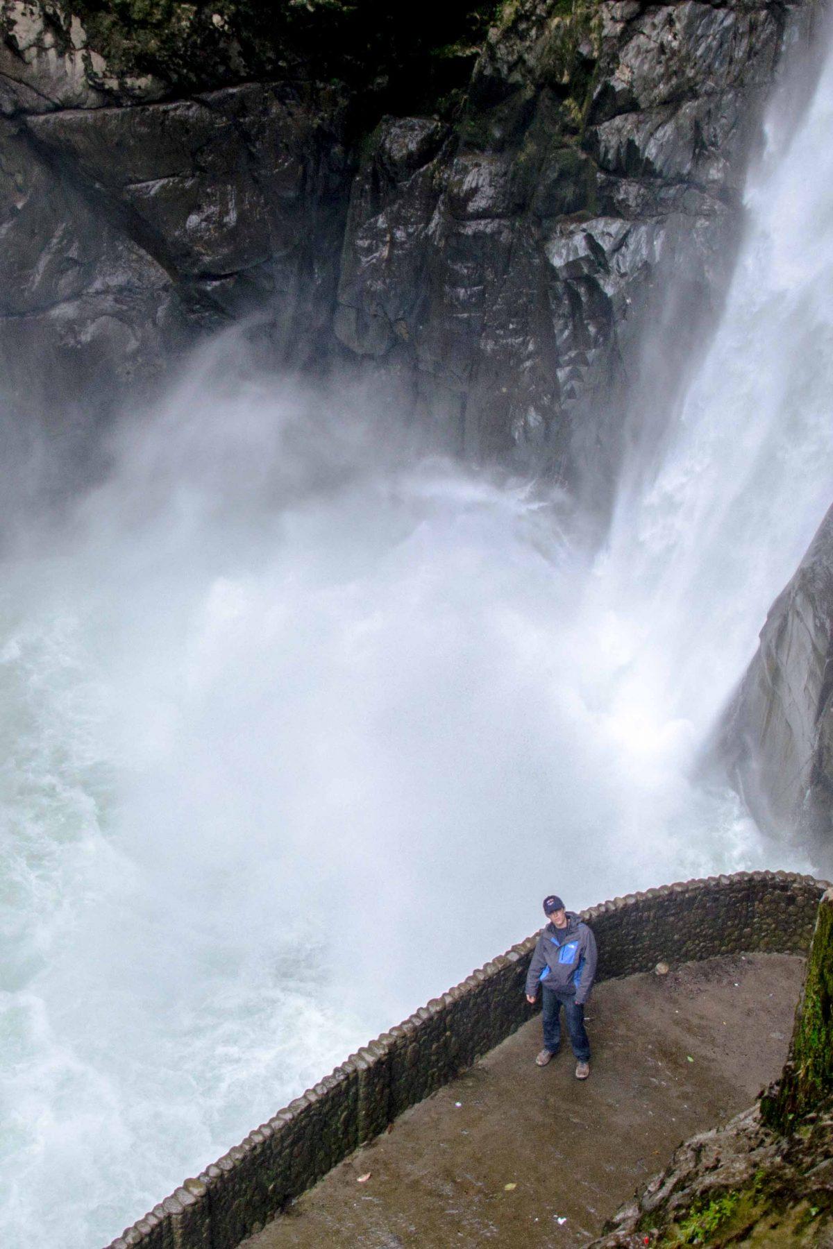 Pailón del Diablo, Baños de Agua Santa, Tungurahua Province, Ecuador Por Mis Ojos