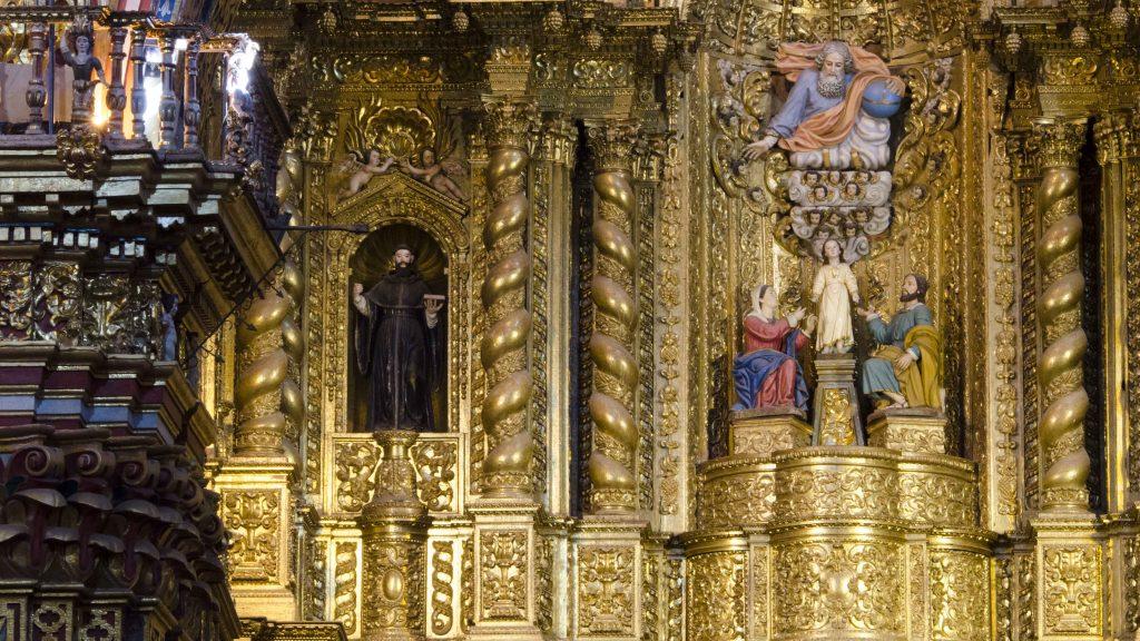 La Compania de Jesus, Quito, Main Altar