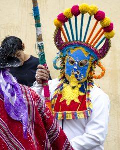 Diablo Huma, Carnaval Parade, Guamote