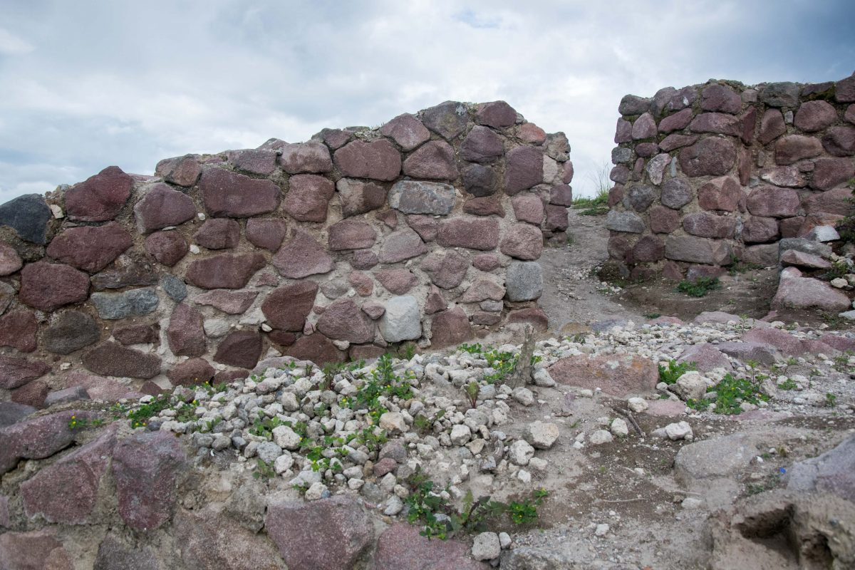 ancient wall, Rumicucho