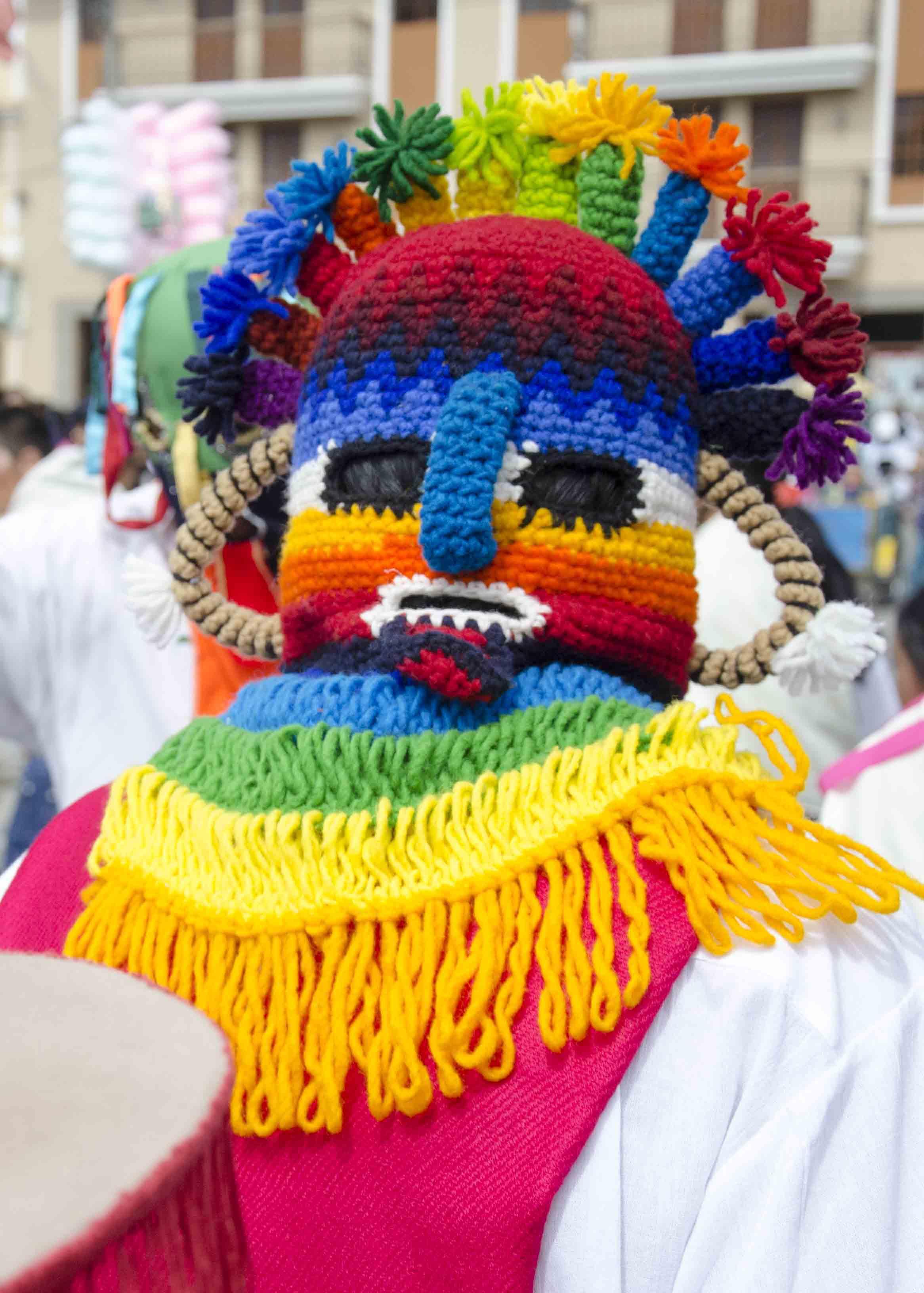 Aya Huma, Taking of the Plaza, School Children Day, Cotacachi, Ecuador
