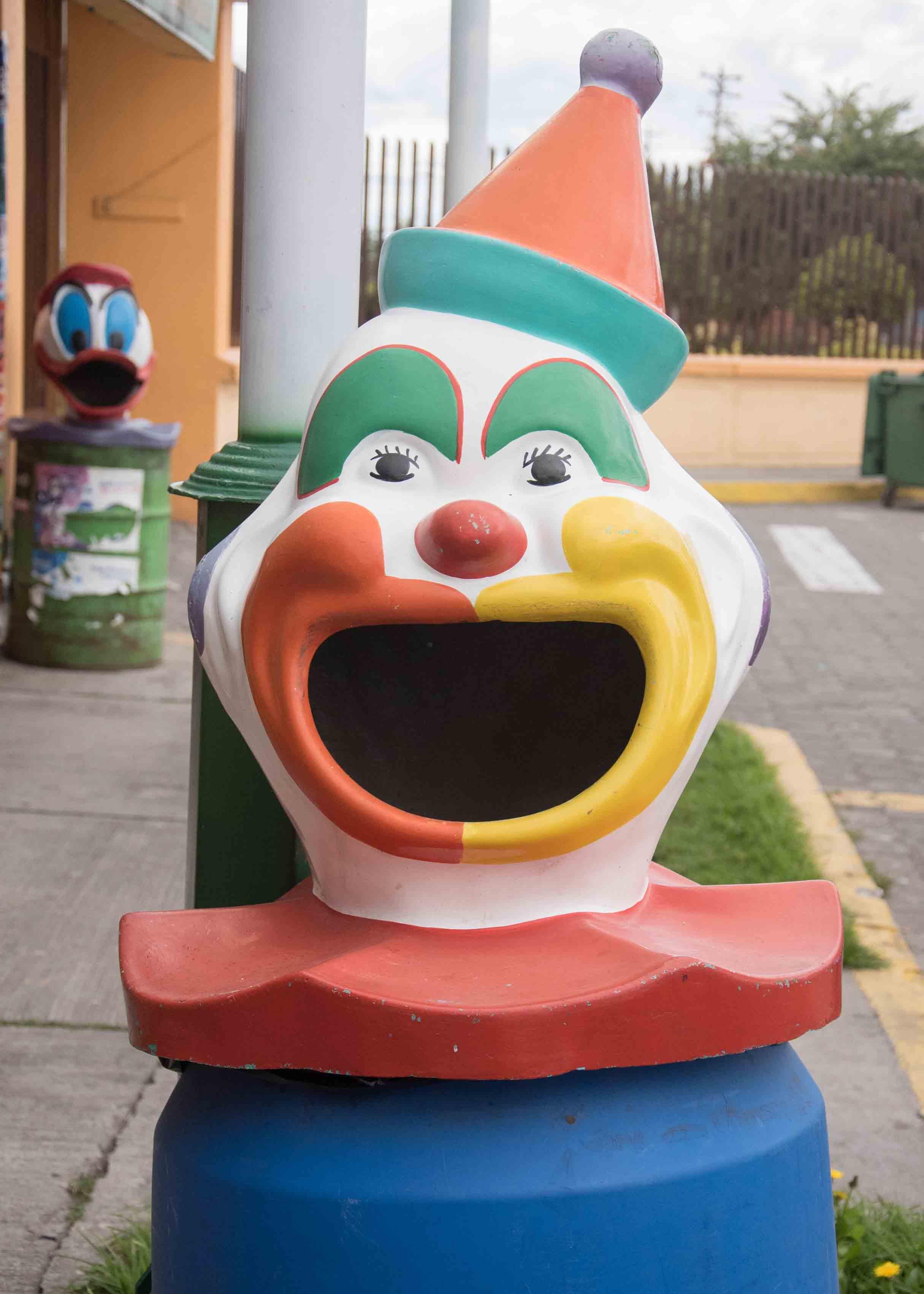 Traditional Clown in Salcedo