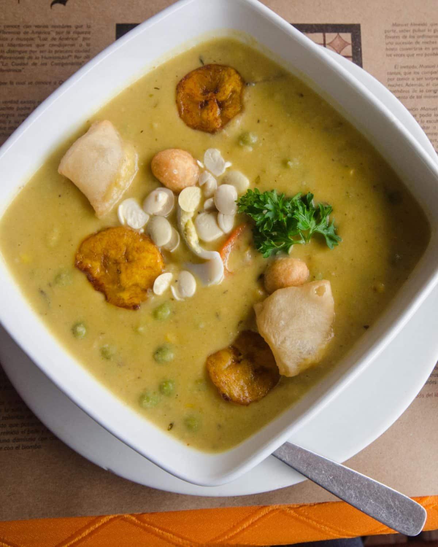Fanesca, a traditional Lenten soup, Quito, Ecuador